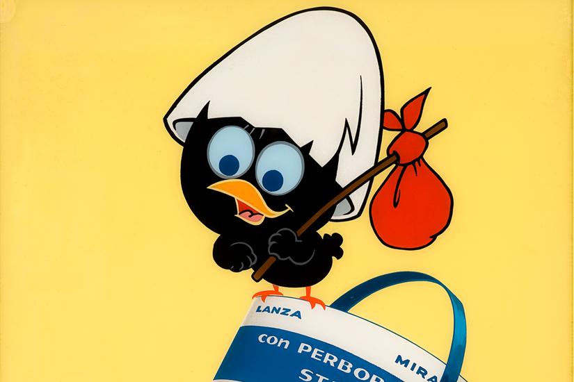 Studio Pagot, Calimero pubblicità per Ava Mira Lanza, 1965
