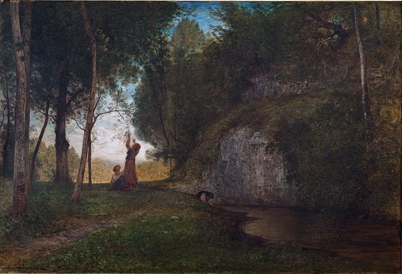 Antonio Fontanesi, La quiete