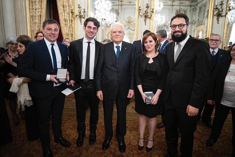 Quartetto Felix con Sergio Mattarella