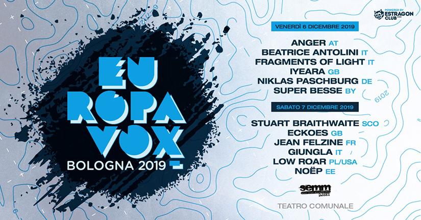 Europavox Bologna 2019