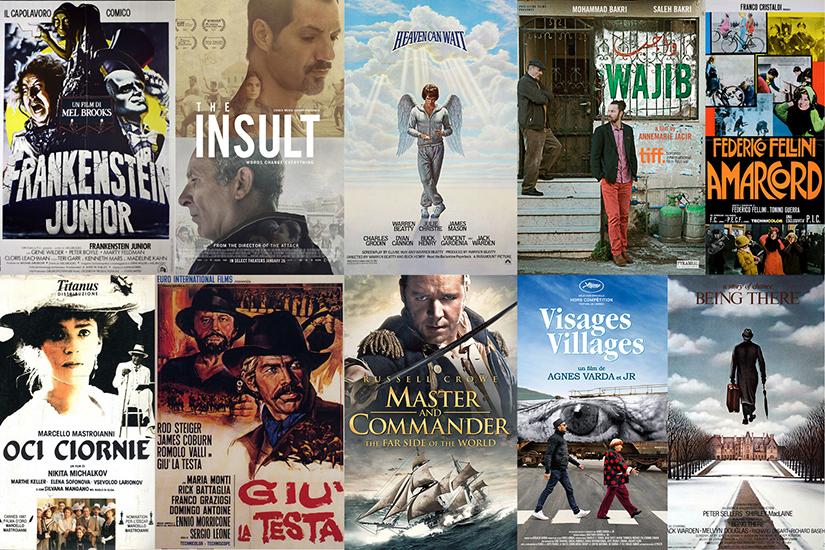 10 film precauzionali