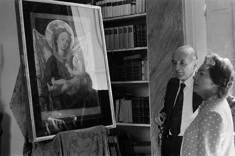 Milton Gendel, Luigi Magnani e la Principessa Margaret d'Inghilterra nella Villa dei Capolavori, 1984