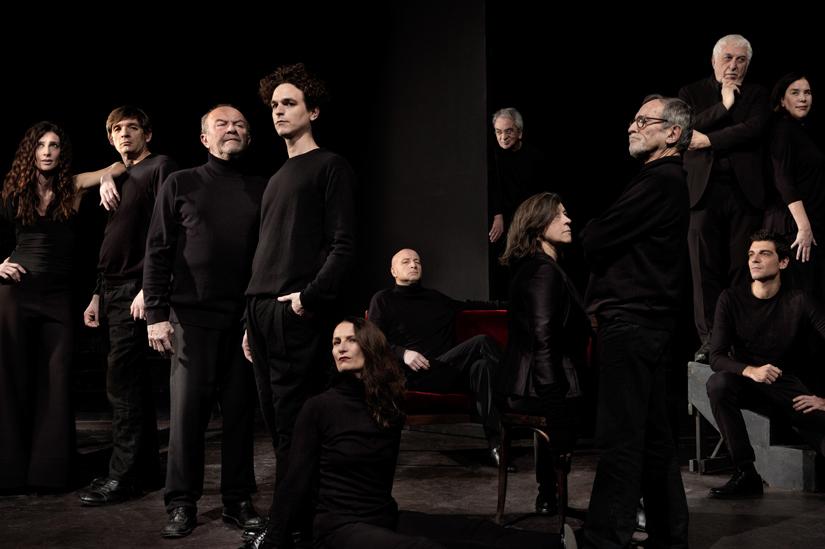 Ensemble attori Teatro Due Parma