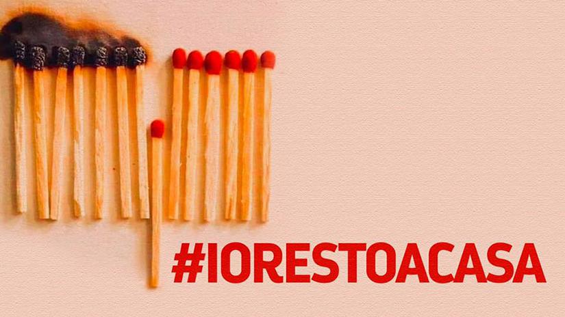 la campagna #iorestoacasa