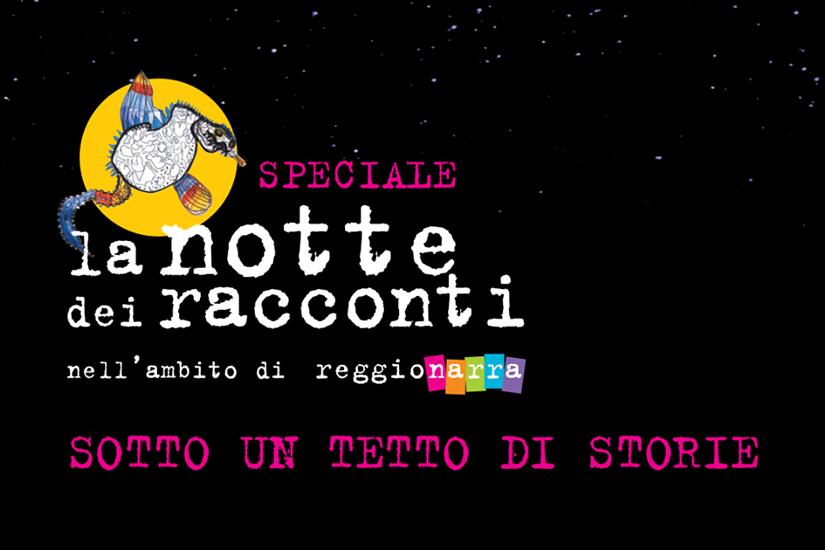 Reggionarra, a Notte dei Racconti venerdì 3 aprile 2020