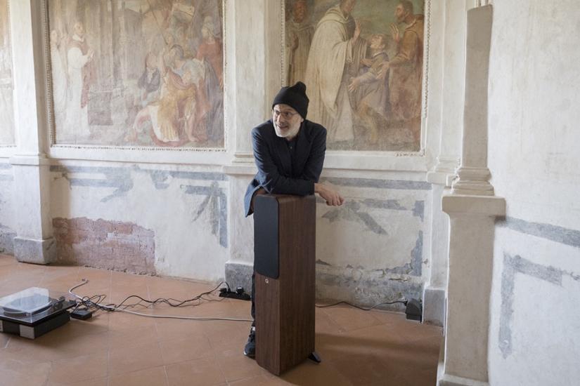 Massimo Bartolini in mostra allo CSAC di Parma, dietro le quinte dell'allestimento