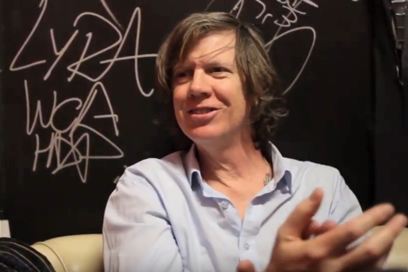 Video intervista a Thurston Moore