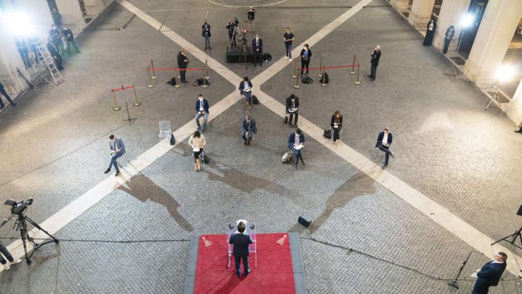 Conferenza stampa Giuseppe Conte 16 maggio 2020