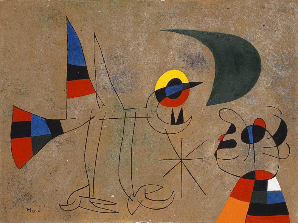 Joan Miró, mostra Fondazione Magnani Rocca
